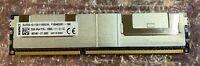 Kingston 32GB DDR3-1600MHz PC3L-12800L 4Rx4 REG ECC Server Memory SL32D3L16L11Q4