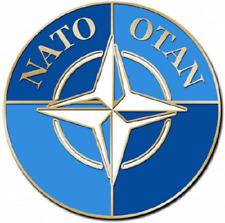 NATO OTAN NORTH ATLANTIC TREATY ORGANIZATION LAPEL HAT PIN