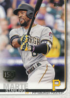Starling Marte 2019 Topps Series 1 150th Anniversary #253 Pittsburgh Pirates