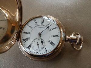 Pocket Watch-Waltham  Canadian Pacific Railway - 21j 18s w/Rare Hunting Movement