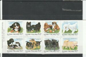 FINLAND 1998 DOGS SET BOOKLET MNH VF