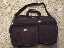 Samsonite Black Luggage Carry On Overnight Shoulder Bag 22 X14