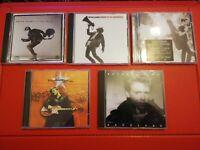 BRYAN ADAMS Job Lot Bundle of 5x CD ALBUMS cuts like a knife, 18 till I die, +++