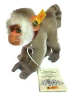 Steiff Coco Parvian 1952 replica monkey baboon mohair 030901 with tags A