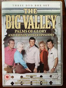 Big Valley DVD Box Set 1960s TV Western Drama Series w/ Barbara Stanwyck 3 Discs