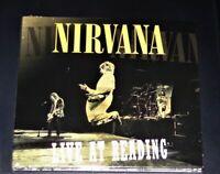 NIRVANA LIVE AT READING CD IM DIGIPAK SCHNELLER VERSAND NEU & OVP
