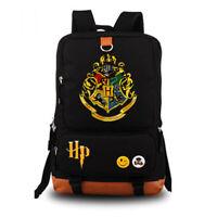 Harry Potter Laptop Backpack School Bag - Black Uni Unisex Adult