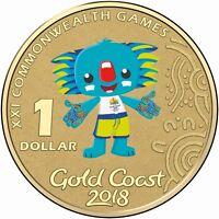 2018 Australia PNC Borobi $1 UNC Coin -  Gold Coast Commonwealth Games