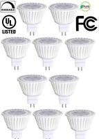 10 Pack Bioluz LED MR16 LED 50W Halogen Equivalent Dimmable 7w 3000K 12v AC/D...