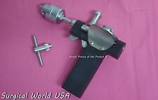Bunnell Bone Drill Hand Crank Surgical Medical Orthopedic Instrument A+ Quality