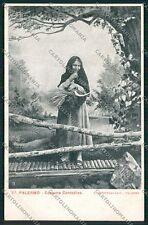 Palermo Costumi Siciliani cartolina QQ0892