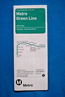 Metro Green Line Timetable - June 24, 2007 - Los Angeles