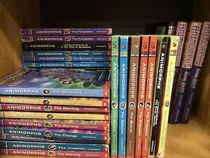 Lot of 5 Animorphs Books Random Mix K.A. Applegate paperbacks