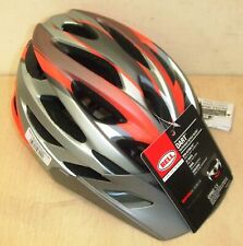 New Bell Dart Youth Adult Bike Bicycle Helmets Orange & Grey 53-60cm
