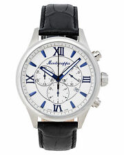Montegrappa Fortuna Chronograph Men's Stainless Watch IDFOWCLB Swiss Made Italy