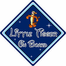 Little Tiger On Board Segnale Auto -- BABY ON BOARD DISNEY WINNIE THE POOH TIGRO DB