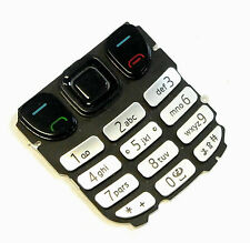 Original Nokia 6303 Tastatur Tastaturmatte Tastenmatte Key Tasten Keypad Silver