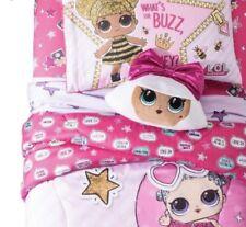 L.O.L. Surprise Glitterful Girls Doll Twin Sheet Set & Comforter Bedding LOL New