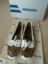 SEBAGO BALA LEATHER DECK/BOAT SHOES SIZE 7.5 (US10) (EU41). WORN ONCE