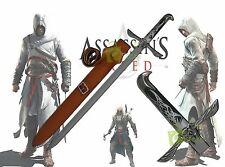 "31"" Assassins Creed Altair Majestic Gaming Medieval Sword Replica Cosplay Sheath"