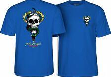 Powell Peralta Mike McGill Skull And Snake Skateboard T Shirt Royal Blue Xxl