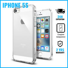 Transparent Cas Clear Hard Case Cover Etui Coque Hoesje For iPhone 5S
