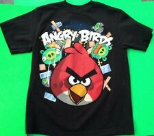 ANGRY BIRDS KID'S T-SHIRT SIZE M BY 'FIFTH SUN' EUC!!