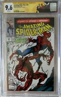 Amazing Spider-Man #361 CGC 9.6 signed by Mark Bagley special edition CGC label
