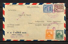 VENEZUELA 0324 AIR MAIL COVER 1948 Puerto Cabello to Germany Hamburg