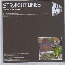 (BB83) Straight Lines, Runaway Now - DJ CD
