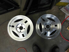 "2- NOS 79 80 81 82 83 84 Ford Mustang 15.35"" Aluminum TRX Wheels 390MM"