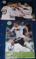 DFB Poster 2010 + Podolski + Ballack + Klose + Gomez