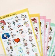Momo's Blog Sticker Diary Planner Book Scrapbook Study Cartoon Anime Cute Decor