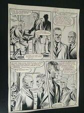 Jolie Planche originale Documents à vendre OSS 117 Aredit 1970 pl 126
