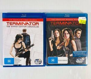 TERMINATOR: Sarah Connor Chronicles | Seasons 1&2 | Blu Ray Series Box Set NEW
