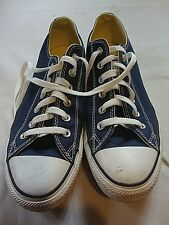 Converse Blue White Unisex Casual Walking Shoes USA Mens Size 8 Womens Size 10