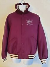 VINTAGE MENS USA COLLEGE JACKET POLOR MINING ALASKA SIZE LARGE VARISTY