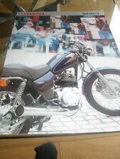 Yamaha SR125 brochure c1999