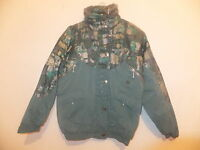 NEW GIRLS TRESPASS PADDED WATERPROOF JACKET WITH HOOD GREEN MIX AGES 7-14