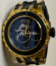 Invicta Men's Reserve Swiss Made Automatic Subaqua Watch WR 500M Black Gold