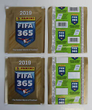 PANINI FIFA 365 2019 | 2 different packets edition BELGIUM | 1x barcode 1x blank
