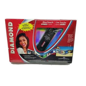 Diamond VC500 USB 2.0 One Touch VHS to DVD Video Capture Device BRAND NEW SEALED