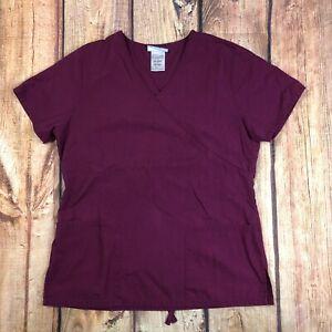 SB Scrub Uniform Top Women Size XS Medical Scrub Top #RN 52469