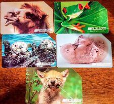 schede telefoniche animali