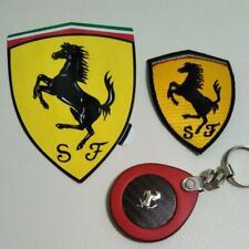 Ferrari carbon key chain