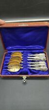 Louis Xv Ice Cream Forks Set of 6 Whiting Sterling Silver Pat 1891 Mono E