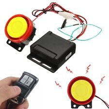 Motorcycle Lock Alarm System with Remote Control Anti Theft Horn Security System