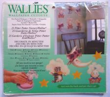 Nursery Baby Wallies Wallpaper Cutouts Border Designs 12939 Cow Moon Cats Stars