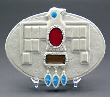 Thunderbird Native American Indian Native Dreams Bradford Exchange Belt Buckle
