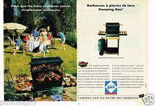 Publicité advertising 1993 (2 pages) les barbecues à Gaz Camping Gaz